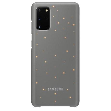 Husa Cover Led Samsung pentru Samsung Galaxy S20 Plus Gri