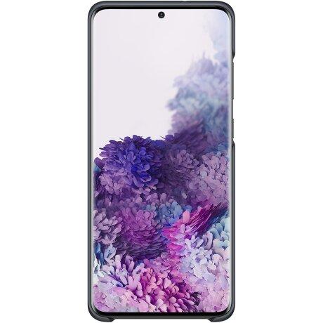Husa Cover Led Samsung pentru Samsung Galaxy S20 Plus Negru