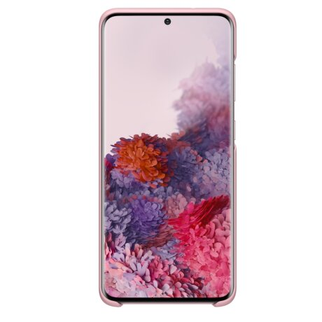 Husa Cover Led Samsung pentru Samsung Galaxy S20 Plus Roz