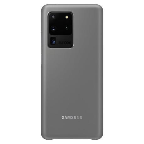 Husa Cover Led Samsung pentru Samsung Galaxy S20 Ultra Gri