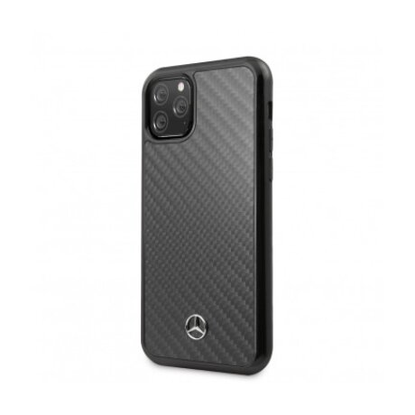 Husa Cover Mercedes Dynamic Carbon pentru iPhone 11 Pro Max MEHCN65RCABK Black