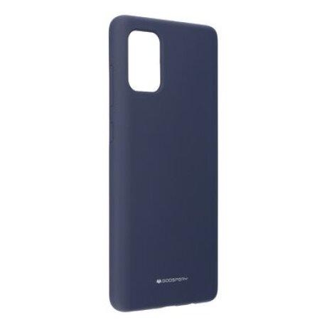 Husa Cover Mercury Silicon Jellysoft pentru Samsung Galaxy A21 Albastru