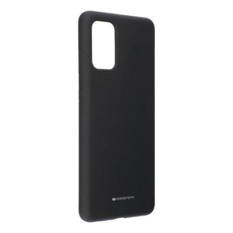 Husa Cover Mercury Silicon Jellysoft pentru Samsung Galaxy A21 Negru