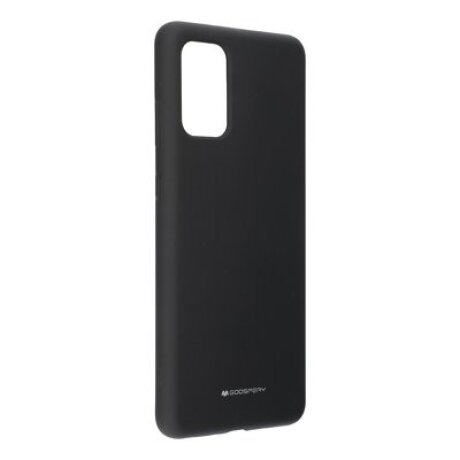 Husa Cover Mercury Silicon Jellysoft pentru Samsung Galaxy S20 Negru