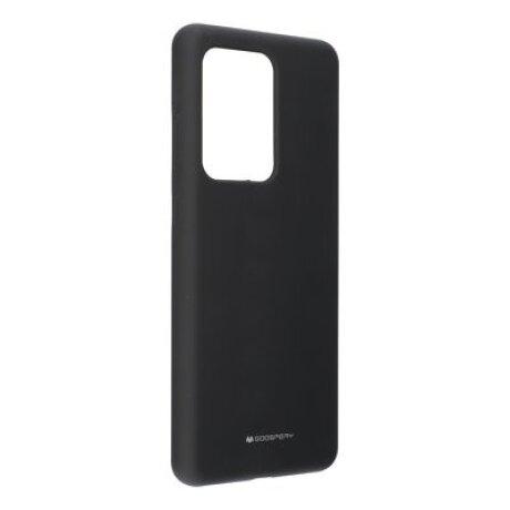 Husa Cover Mercury Silicon Jellysoft pentru Samsung Galaxy S20 Ultra Negru
