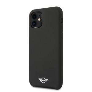 Husa Cover Mini Cooper Silicone pentru iPhone 11 Negru