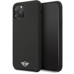 Husa Cover Mini Cooper Silicone pentru iPhone 11 Pro, Negru