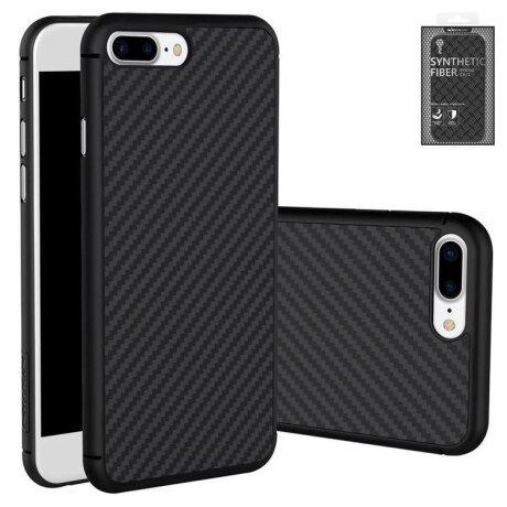 Husa Cover Nillkin Fiber Hard Pentru Iphone 8/Se 2 Negru