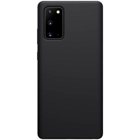 Husa Cover Nillkin Flex Pure pentru Samsung Galaxy Note 20 Negru