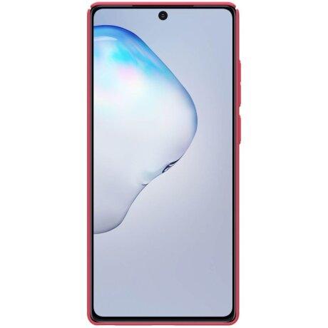 Husa Cover Nillkin Super Frosted pentru Samsung Galaxy Note 20 Rosu
