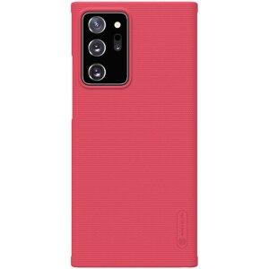 Husa Cover Nillkin Super Frosted pentru Samsung Galaxy Note 20 Ultra Rosu