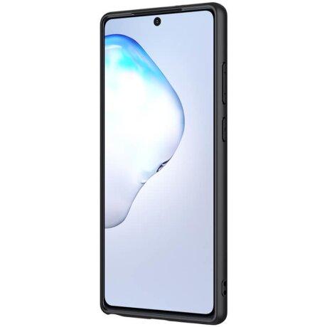 Husa Cover Nillkin Textured pentru Samsung Galaxy Note 20 Negru