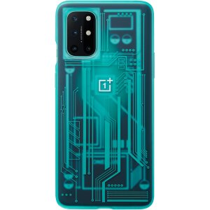 Husa Cover Plastic Bumper Quantum Cyborg pentru OnePlus 8T Albastru