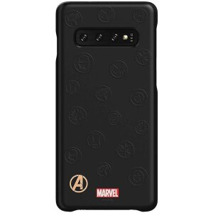 Husa Cover Samsung Avangers Marvel Edition pentru Samsung Galaxy S10  Black