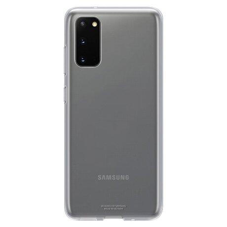 Husa Cover Samsung pentru Samsung Galaxy S20 Transparent