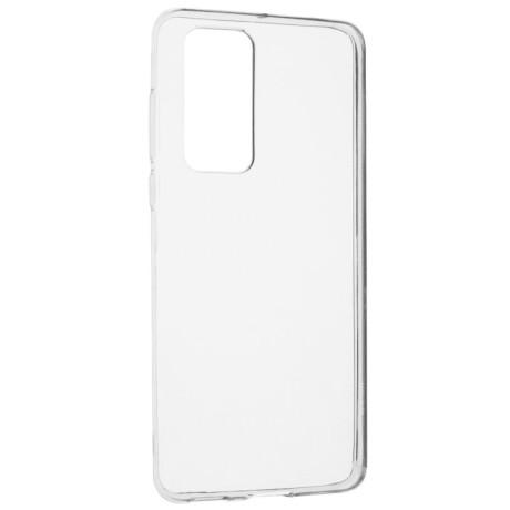 Husa Cover Senso Silicon pentru Huawei P40 Transparent