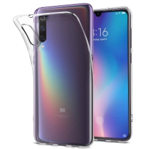 Husa Cover Senso Silicon pentru Xiaomi Mi 9 Transparent