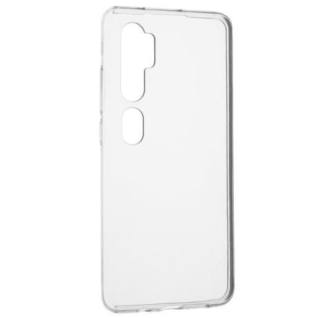Husa Cover Senso Silicon pentru Xiaomi Mi Note 10/Mi Note 10 Pro Transparent