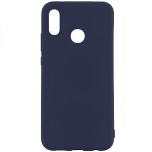 Husa Cover Senso Silicon Soft Mat pentru Huawei Y9 Prime 2019/P Smart Z Albastru