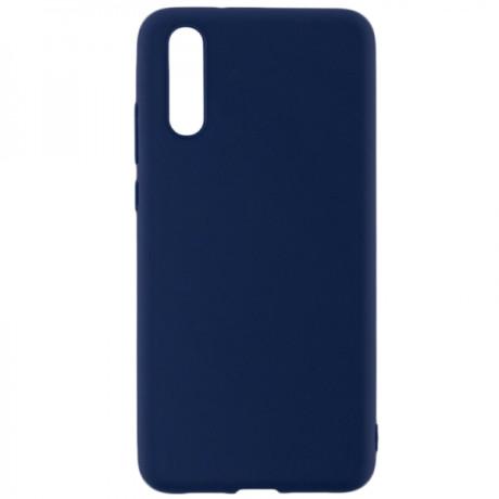Husa Cover Senso Silicon Soft Mat pentru Xiaomi Mi 9 Albastru