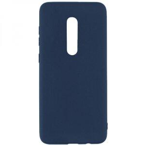 Husa Cover Senso Silicon Soft Mat pentru Xiaomi Mi 9 Pro Albastru