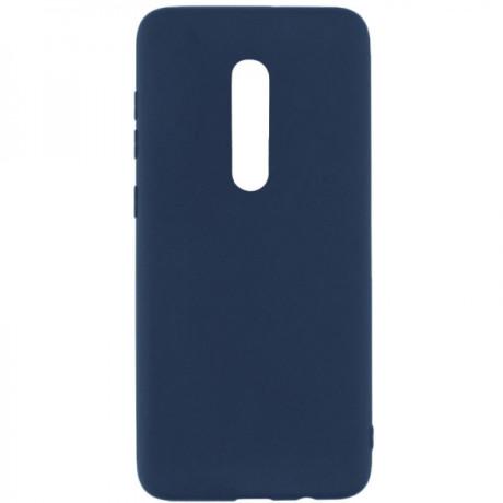 Husa Cover Senso Silicon Soft Mat pentru Xiaomi Mi 9/Mi 9T Pro Albastru