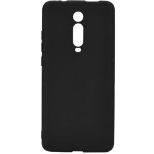 Husa Cover Senso Silicon Soft Mat pentru Xiaomi Mi 9/Mi 9T Pro Negru