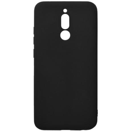 Husa Cover Senso Silicon Soft Mat pentru Xiaomi Redmi 8 Negru