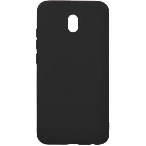 Husa Cover Senso Silicon Soft Mat pentru Xiaomi Redmi 8A Negru
