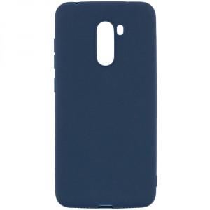 Husa Cover Senso Silicon Soft Mat pentru Xiaomi Redmi Note 8 Pro Albastru