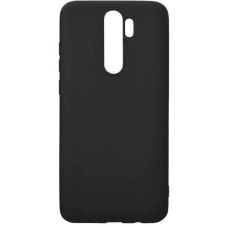 Husa Cover Senso Silicon Soft Mat pentru Xiaomi Redmi Note 8 Pro Negru