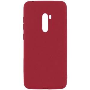 Husa Cover Senso Silicon Soft Mat pentru Xiaomi Redmi Note 8 Pro Visiniu