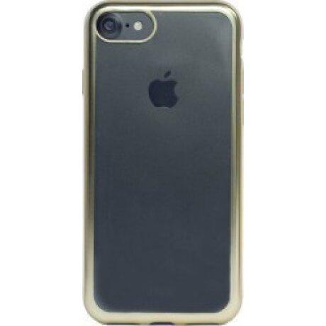 Husa Cover Silicon Pentru Iphone 7/8/Se 2 Rama Auriu