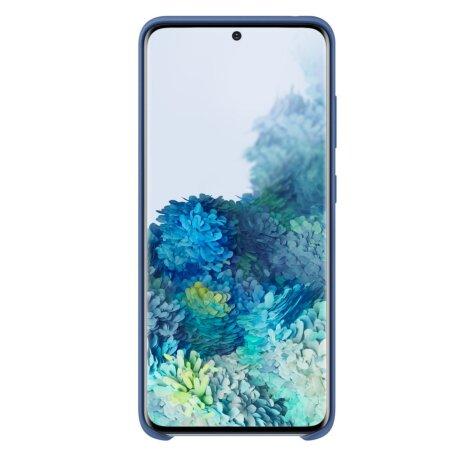 Husa Cover Silicon Samsung pentru Samsung Galaxy S20 Albastru