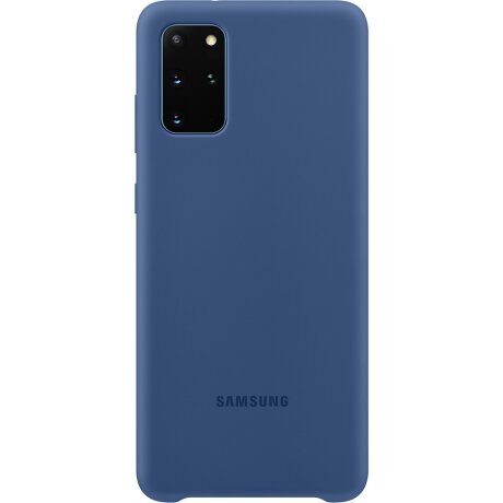 Husa Cover Silicon Samsung pentru Samsung Galaxy S20 Plus Albastru