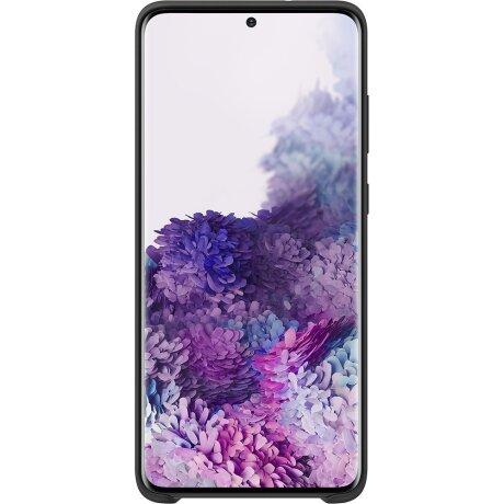 Husa Cover Silicon Samsung pentru Samsung Galaxy S20 Plus Negru