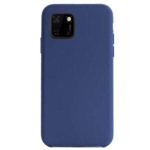Husa Cover Silicon Slim Mat pentru Huawei Y5P Albastru