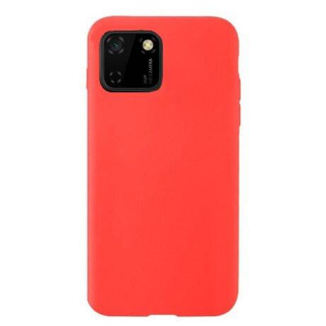 Husa Cover Silicon Slim Mat pentru Huawei Y5P Rosu