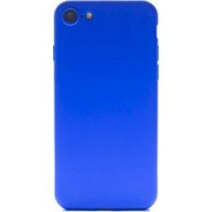 Husa Cover Silicon Slim Mat Pentru Iphone 8/Se 2 Albastru