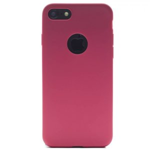 Husa Cover Silicon Slim Mat Pentru Iphone 8/Se 2 Rosu