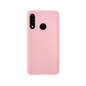 Husa Cover Silicon Slim Mobico pentru Huawei P30 Roz Pal