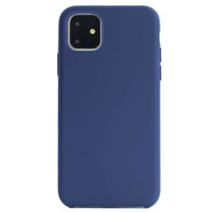 Husa Cover Silicon Slim Mobico pentru iPhone 11 Albastru