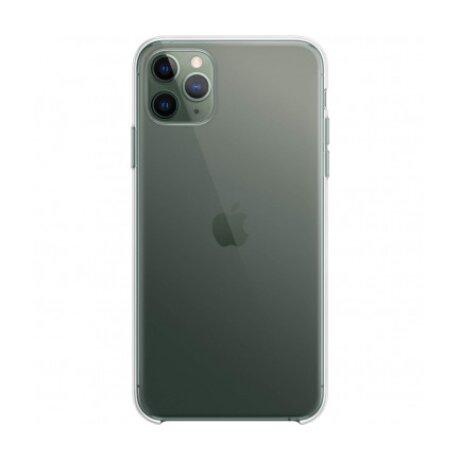 Husa Cover Silicon Slim Mobico pentru iPhone 11 Pro Max Transparent