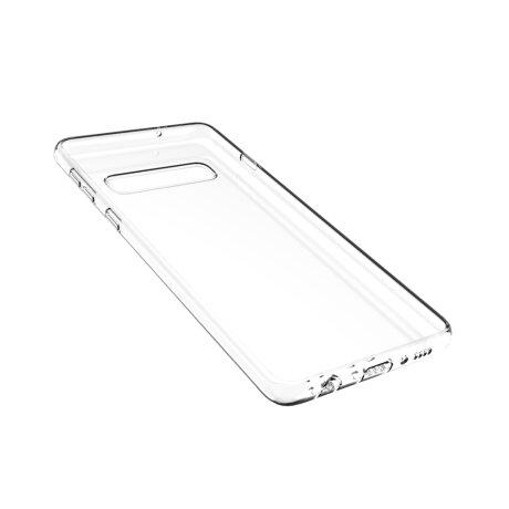 Husa Cover Silicon Slim Mobico pentru Samsung Galaxy S10 Transparent