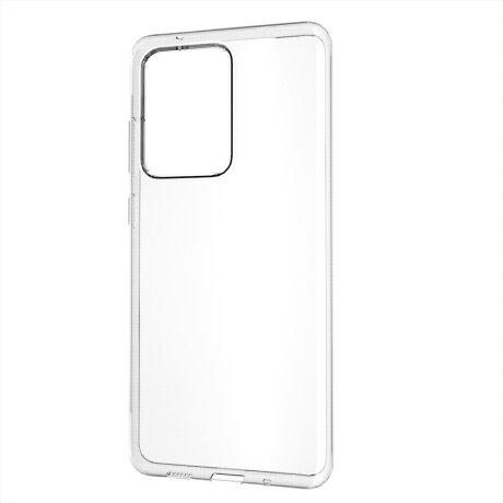 Husa Cover Silicon Slim Mobico pentru Samsung Galaxy S20 Ultra Transparent