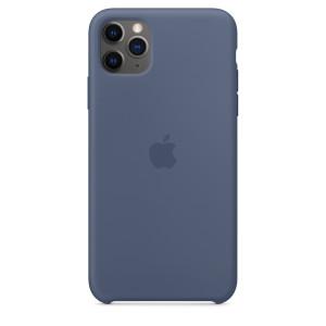 Husa Cover Silicone Apple pentru iPhone 11 Pro Max Albastru