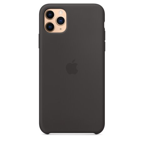 Husa Cover Silicone Apple pentru iPhone 11 Pro Max Negru