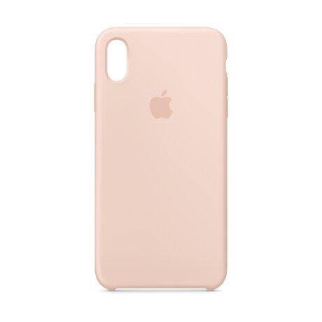 Husa Cover Silicone Apple pentru iPhone Xs Max   Roz