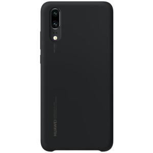 Husa Cover Silicone Huawei pentru Huawei P20 Black