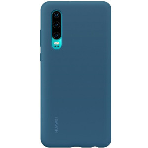 Husa Cover Silicone Huawei pentru Huawei P30 Blue